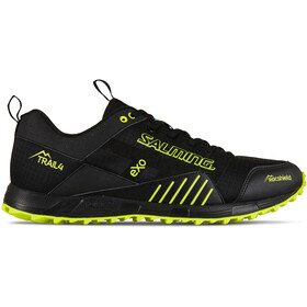 Salming Trail T4 Schoenen Heren, black/safety yellow